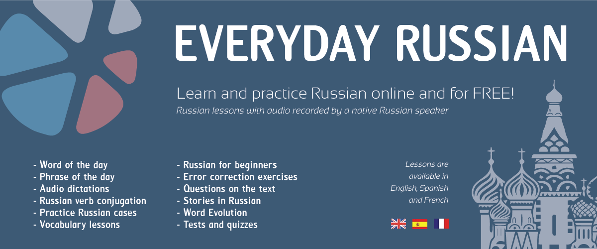 Everyday Russian - Free online Russian lessons